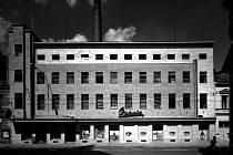 Opavia. Takto vypadala továrna na Olomoucké ulici v době plného provozu.
