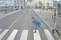 Fotografie z dopravní nehody.