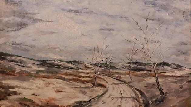 V Nových Sedlicích vystaví obrazy místního malíře.