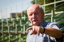 Majitel jízdárny Vladimír Hruška.
