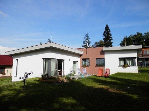 Veřejnost zaujal rovněž rodinný dům ve Vítkově.