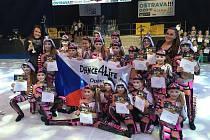 Úspěchy na Světovém poháru sbírali také tanečníci a tanečnice z Opavy.