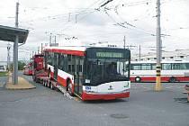 Opavský dopravní podnik nabídl letos cestujícím už nové trolejbusy.