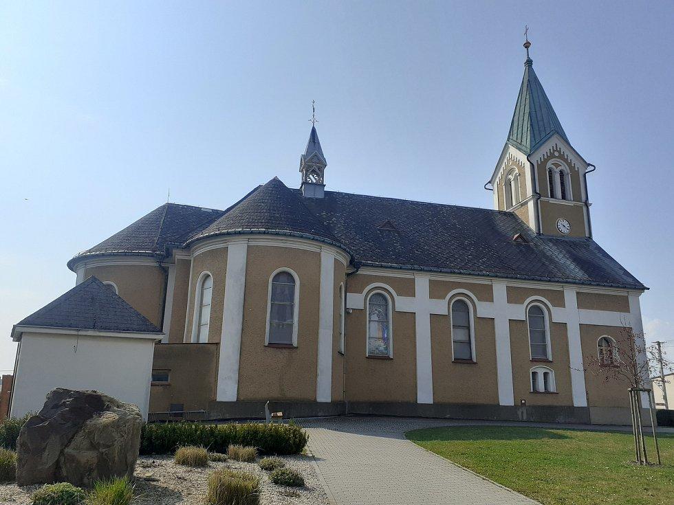 Kostel sv. Kateřiny Štěpánkovice.
