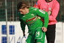 Petr Koubek (v zeleném)