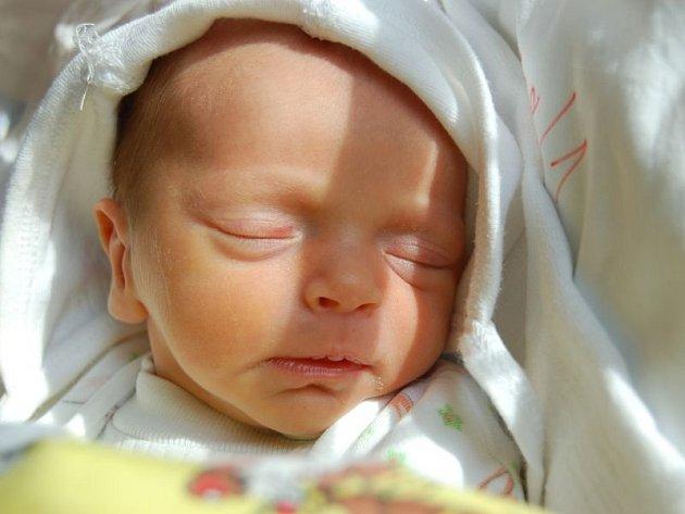 """Markéta Heidrová se narodila 28. ledna, vážila 2,29 kg a měřila 47 cm. Rodiče Martin a Jiřina z Kravař jí do života přejí: """"Hlavně zdraví."""" Doma už se na ní těší bráška Filip a sestřičky Claudie, Sára a Bára."""