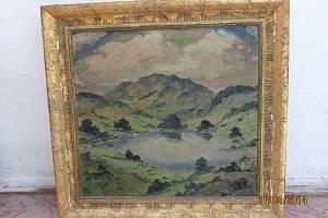 Jedna z krajinomaleb Františka Drtikola, kterou převzalo Slezské zemské muzeum.