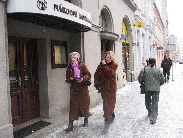 Národní kavárna na Olomoucké ulici v Opavě je zavřená.