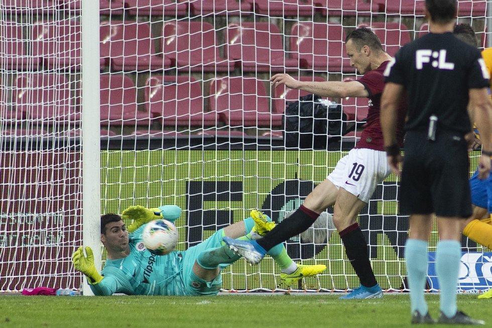 Sparta Praha – SFC Opava 2:0 (1:0), 10. června 2020