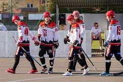 Opavští hokejbalisté - Ilustrační foto.