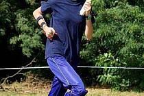 Klára Svobodová, úspěšná orientační běžkyně.