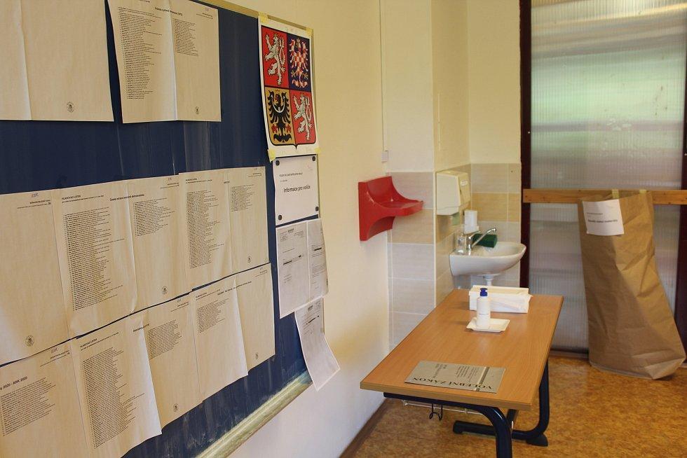 Volby do krajského zastupitelstva v Opavě, říjen 2020.