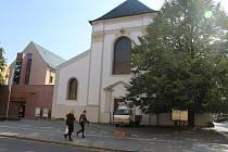 Kostel sv. Václava v Opavě.