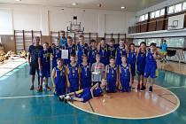 Basketbalový potěr Opavy bral zlaté medaile.