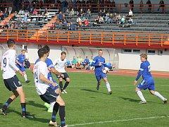 MSFL: MFK Vyškov (v bílém) - Jiskra Rýmařov 2:0