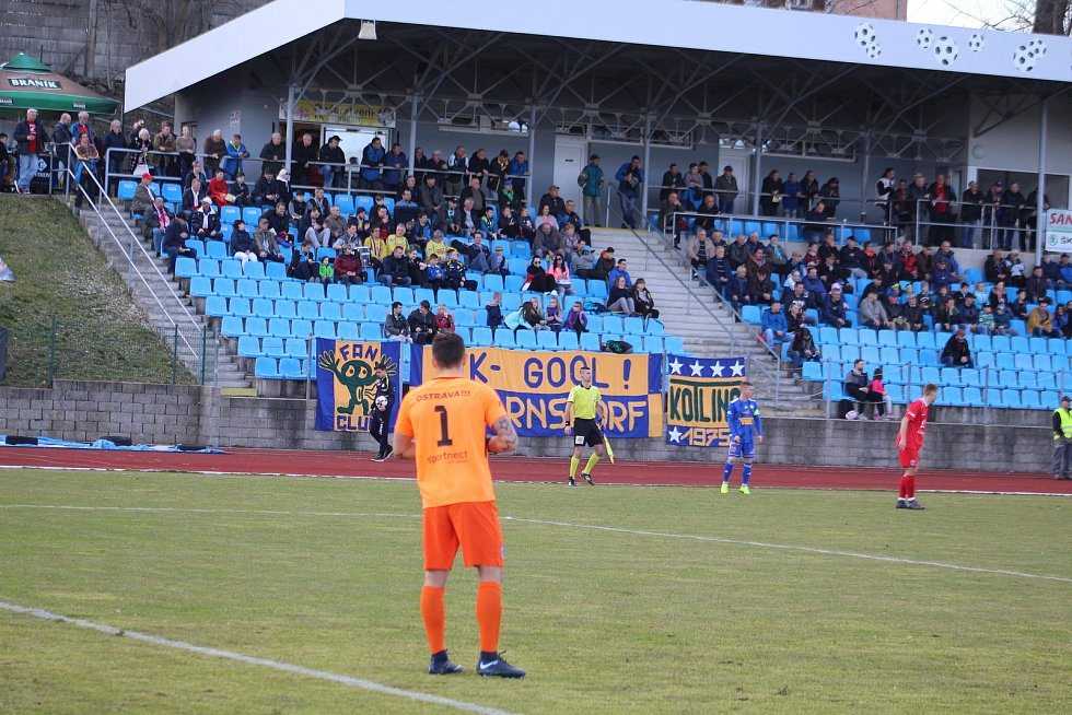 Sport fotbal FNL FK Varnsdorf - MFK Vítkovice