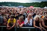 Festival Hrady CZ, který v Hradci nad Moravicí proběhl tento pátek a sobotu sice trošku zkazilo počasí, ale i přesto návštěvnost byla rekordní.