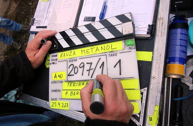 Jednu zhlavních postav dvoudílného snímku Metanol ztvárnil přední český herec Lukáš Vaculík.
