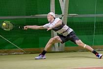 Dorostenecké finále MČR v tenise mezi Danielem Siniakovem a Vítkem Horákem.