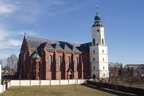 Kostel svatého Bartoloměje v Kravařích.