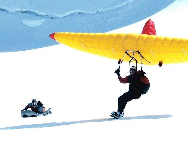 Film Emergeride je jedním z těch, které budou promítnuty dnes v Opavě. Snímek zachycující extrémní sporty ve francouzský Alpách je zároveň mezi nominovanými na cenu festivalu.
