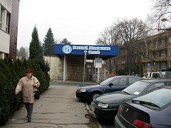 Slezská nemocnice v Opavě.