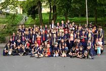 Kouzelný dětský tábor pro děti s diabetem se uskutečnil minulý týden. Děti čarovaly ve stylu Harryho Pottera.