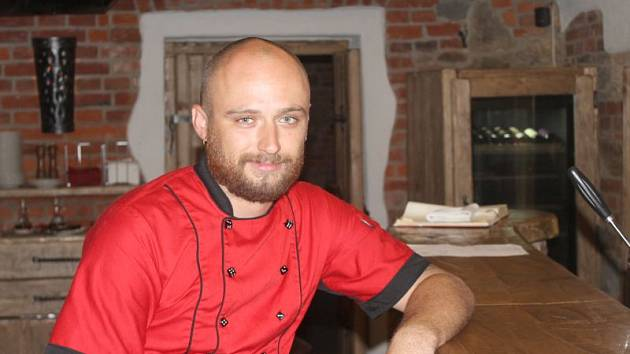 Šéfkuchař Martin Šimera chce ze Středověkých pivních sklepů udělat nejvyhlášenější restauraci v Opavě.