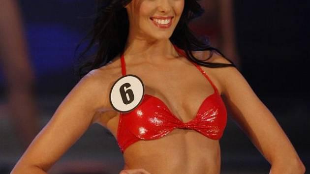 Rudé plavky a ďábelské číslo šest. Takhle Opavsko Michaela Dihlová v sobotu reprezentovala v soutěži Česká Miss 2012. Přesto, že titul nakonec kozmická kráska nezískala, můžete posoudit sami, že jí to slušelo.