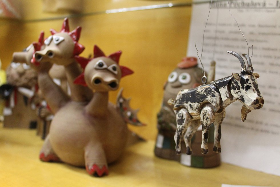 Muzeum loutek v Opavě.