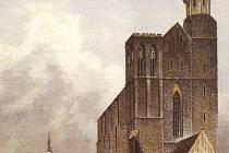 Podoba chrámu z poloviny 19. století.
