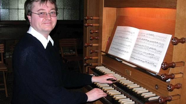 Johannes Zimmerl vystoupí ve čtvrtek 24. května na varhanním koncertě v chrámu svatého Ducha v Opavě.