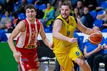 Filip Zbránek, na snímku v žlutém dresu Opavy. Ilustrační foto.