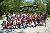 Žáci z Opavska obdivovali přírodní bohatsví Bavorského lesa.