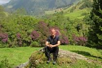 MARTIN HÁJEK si v Kolumbii prošel také vyhlášené malebné údolí Valle del Cocora.
