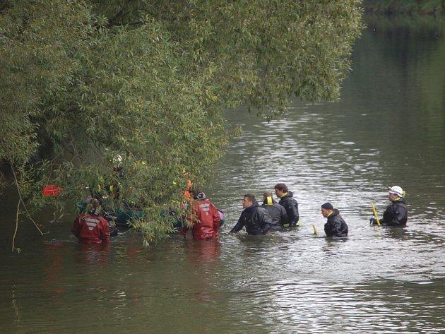 Záchranáři našli tělo pohřešovaného Ondráška.