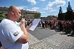 Ve Vítkově na Opavsku se v jeden den konala současně romské a protiromské shromáždění.