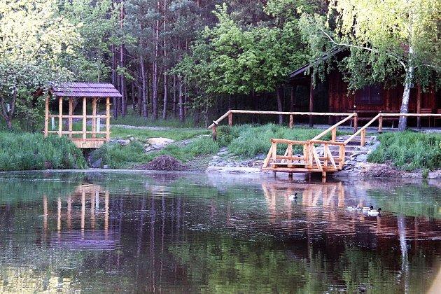 Rybníky uBolatic.