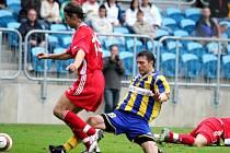 Rostislav Kiša patřil k nejlepším hráčům na hřišti.