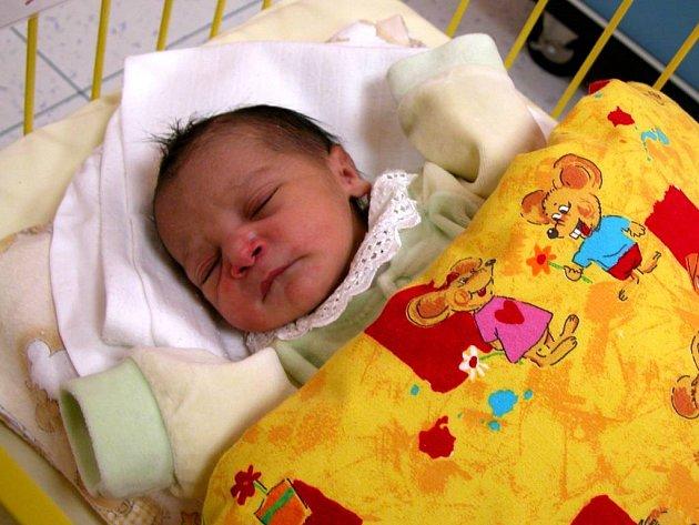 Jennifer, první miminko letošního roku.