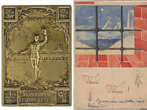 Dva zexponátů výstavy.