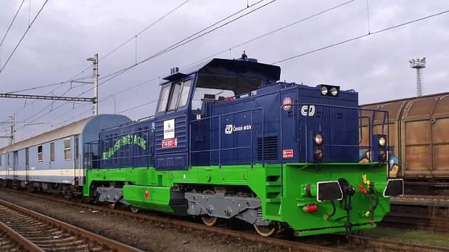 """Železniční trať mezi Opavou a Hlučínem se v budoucnu stane """"pokusným králíkem"""". Tedy abychom byli přesní nikoliv ona samotná, ale lokomotiva, která po ní bude projíždět."""