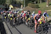 Trať dlouhou 21 kilometrů pokořilo 169 závodníků. Nejlepší byl Viktor Klos z Horní Lhoty.