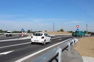 Nový rondel mezi Opavou a Komárovem. Opava, 15. června 2021.