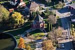 Letecký pohled na Chuchelnou.