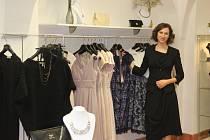 Gabriela Premusová ve své prodejně La Gabriella v Ostrožné ulici.