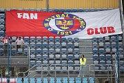 Zápas 22. kola Fortuna národní ligy mezi SFC Opava a FK Fotbal Třinec.