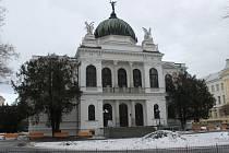 Historická výstavní budova Slezského zemského muzea. Ilustrační foto.