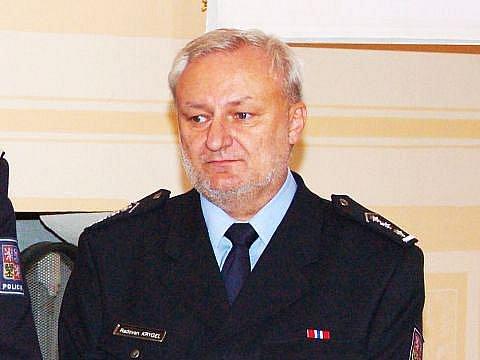 Šéf opavských policistů Radovan Krygel.