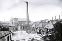 Bývalá továrna Jacoba Quittnera.